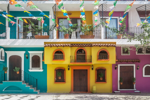 Old Streets of Puerto Vallarta, Jalisco, Mexico
